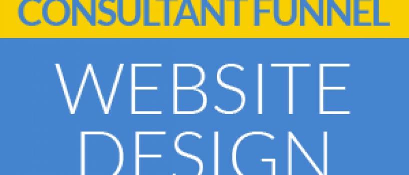 New PLR – Consultant Funnel – Website Design
