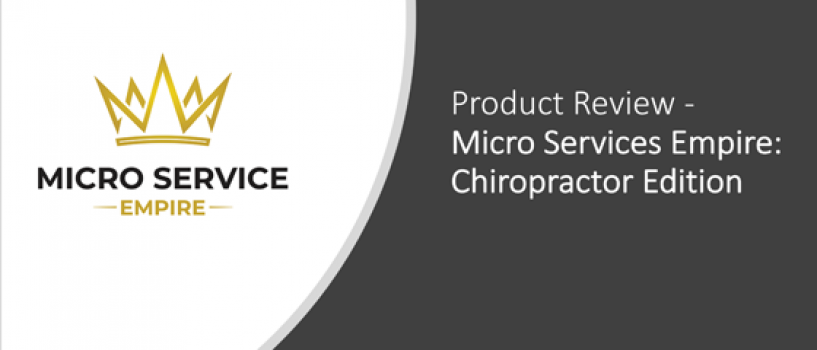 Product Review: Micro Service Empire – Chiropractor Edition